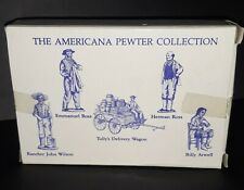 Americana Pewter Collection Liberty Falls Ah72 figures Hess Dept Store Allentown