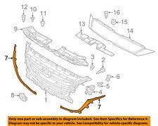 MAZDA OEM 14-15 3 Grille Grill-Molding Trim or Surround Left BHN1507K1A