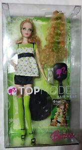 Mattel Top Model Summer Hair Wear Barbie Doll 2007 MODEL