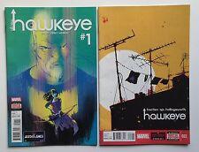 All New Hawkeye #1 (2016) & Hawkeye #22 (2015) - Marvel Comics - VF-VF/NM