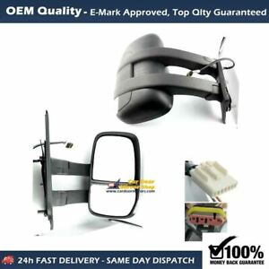 For IVECO Daily 2006 to 2014 Long Arm Electric Complete Mirror Unit RHS