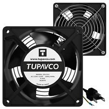 Network Cabinet Fan Pair - Server Rack Cooling Ventilation 110V AC
