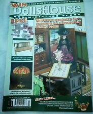 Dolls house and miniature scene magazine, March 2008 issue 165
