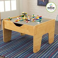 KidKraft 2 in 1 Activity Table LEGO w/ Board Convenient Storage Space Kid Play