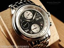 Bulova Accutron Men's Gemini Swiss Automatic Valjoux 7750 Stianless Steel Watch