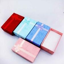 5x Jewelry Ring Earring Necklace Gift Display Package Cardboard Cute Case Box