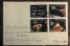 1969 Yemen First Day Cover Cancel FDC To France Mission To The Moon Apollo 14