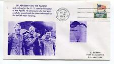 1969 Splashdown in the Pacific Apollo 10 Cape Canaveral Florida NY Space Cover