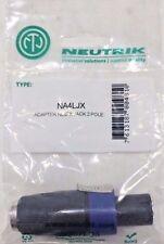 "Neutrik NA4LJX speakON 1/4"" Mono Jack Adapter"