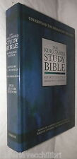 THE KING JAMES STUDY BIBLE Reference edition edited by C I Scofield Barbour di e