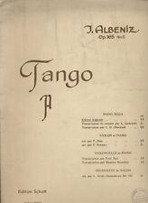 Tango by J. Albeniz Op.165 No.2