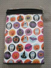 NEW-Cynthia Rowley Set Of 2 Halloween Standard Pillowcases, Ghosts, Bats, Skulls