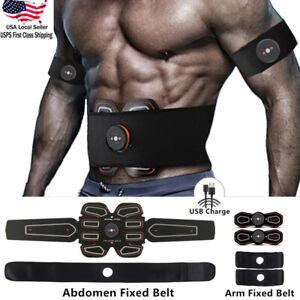 ABS Stimulator Abdominal Muscle Training Gear ab Toner EMS Toning Workout Belt
