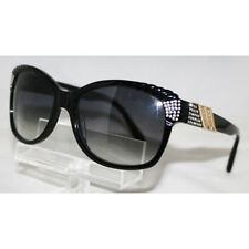 00e998c8709 New Authentic Diva 4185 97A Black Sunglasses w  Swarovski Crystals Made in  Italy