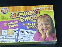 Alphabet Bingo Educational Play 8 Bingo Cards 42 Alphabet Cards 70 Bingo Chips