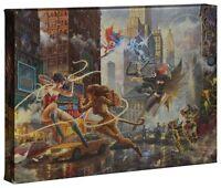Thomas Kinkade Studios DC The Women of DC 10 x 14 Gallery Wrap Canvas