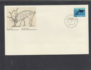 Canada 1988 Killer Whale FDC First Day Cover Ottawa pictorial hs