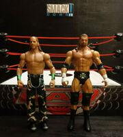 WWE D-GENERATION X TRIPLE H SHAWN MICHAELS MATTEL WRESTLING FIGURES SERIES 5 DX
