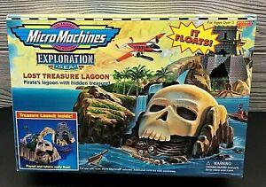 HTF! 1997 MICRO MACHINES EXPLORATION LOST TREASURE LAGOON GALOOB NEW