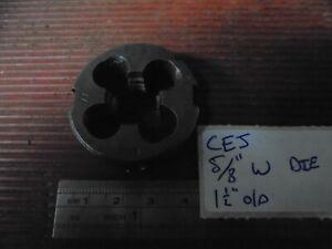 """5/8"""" W die made by CEJ"""