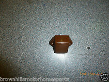 HYMER ERIBA MOTORHOME CARAVAN WARDROBE BROWN MINI PUSH LOCK CATCH