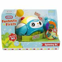 Little Tikes Spinning RC- Blue Fantastic Firsts Toddler Fun Toy Brand NEW
