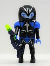 Alien Guard Bleu avec Laserwaffe Playmobil à Space Vaisseau Spatial Astronaute -