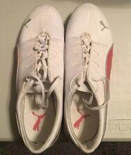 *Women's PUMA Sport Lifestyle White / Pink Shoes Size 9