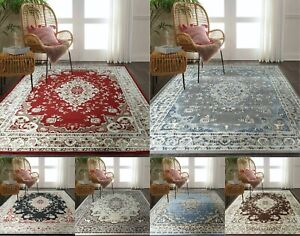 TRADITIONAL RUGS LOW PRICE DISCOUNT SMALL EXTRA LARGE RUNNER CARPET BUDGET RUGS