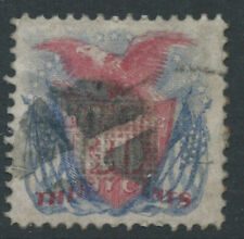 More details for usa 1896 sg123 30c pale carmine & pale ultra - grill - good used. catalogue £500