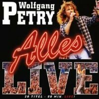 "WOLFGANG PETRY ""ALLES LIVE"" CD NEUWARE"
