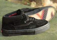 a987a2ae15 RARE VANS x Metallica Half Cab PRO Black Leather Sz 11 Men s Shoe KILL EM  ALL