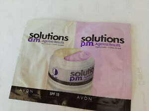 Avon solutions Ageless results am/pm sample
