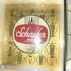 "Vintage Antique c1960s Schaefer Beer Light Up clock functions 12""x 7.5 good cond"