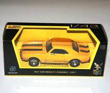 Road Signature - CHEVROLET CAMARO Z28 (1967) Yellow - Model Scale 1:43
