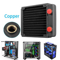 Full Copper 120mm 13 Tubes Computer PC Water Cooling Radiator CPU GPU Heatsink