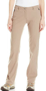 Craghoppers Pro Stretch Womens Walking Trousers Beige Outdoor Hiking Pants Reg