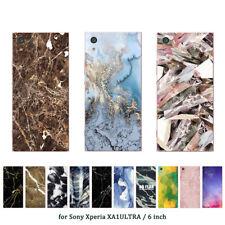 Suave TPU Silicona Funda para Sony Xperia XA1 impresiones de cubierta de piel Ultra teléfono