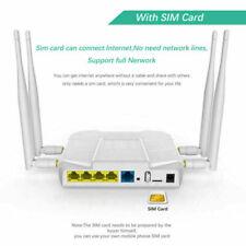 4G Lte Router At&T T-Mobile Verizon Sim Card Slot 1200Mbps Wifi Hotspot Usa