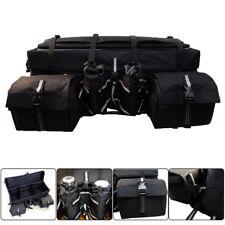 Universal ATV Rack Rear Padded Storage Cargo Luggage Gear Bag Seat Waterproof