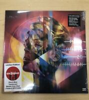 P!NK Hurts 2B Human Target Blue Marble LP Vinyl Collectors w/ Poster & MP3 PINK