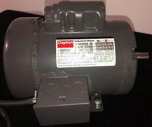 Dayton Industrial Motor 6K123H 3/4 HP 60Hz 1725 RPM 115/208-230V Single Phase