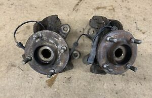 Genuine Ford Focus ST170 Pair Of Front Hubs & Knuckles - Used