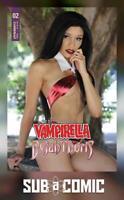VAMPIRELLA DEJAH THORIS #2 COVER E VAMPIRELLA COSPLAY (DYNAMITE 2018) COMIC