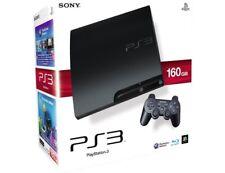 PS3 PLAYSTATION 3 - CONSOLE SLIM + 2 JOYPAD + 6 GIOCHI A SCELTA -GARANZIA 1 ANNO