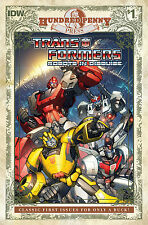 IDW TRANSFORMERS ROBOTS IN DISGUISE #1 100 Hundred Penny Press variant NM RID