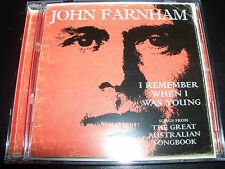 John Farnham I Remember When I Was Young CD – Like New