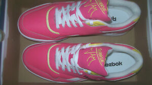 New Reebok Reverse Jam Basketball Low Shoes Laser Pink  UK12 EU47 Boxed Bargain