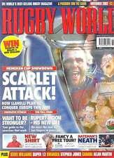 RUGBY WORLD MAGAZINE November 2002 Russia, Allan Martin, Mike Shelley Leeds