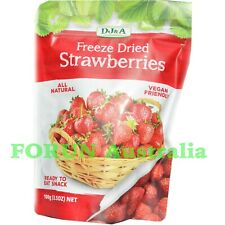Freeze Dried Strawberry 100G -  ready to eat-Free Fast Ship by AU POST